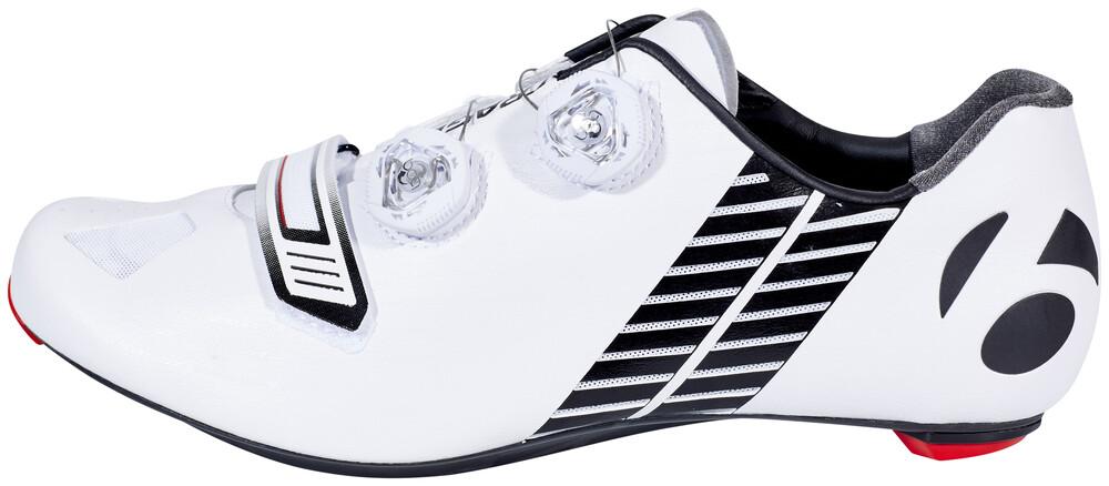 Chaussures Blanches Bontrager Pour L'été Avec Des Hommes De Fermeture Velcro uh6XG1C